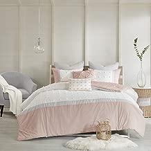 Urban Habitat Myla 7 Piece Cotton Jacquard Comforter Set Blush Full/Queen