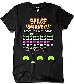 Camisetas La Colmena T-Shirt The Hive 4188-camiseta Premium, Space Invaders