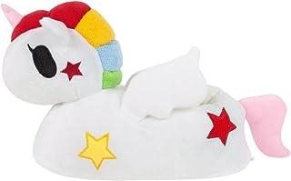 Zapatillas de Unicornio 3D Muchacha Blanca