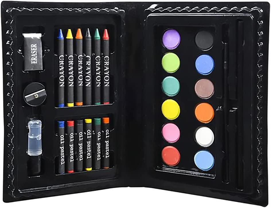 Year-end annual account Deluxe Art Set 30 Piece Includes Superior Pastel Oil Crayons Watercolor