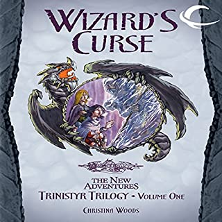 Wizard's Curse audiobook cover art