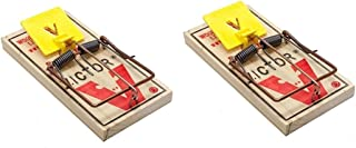 2 Victor M326 Pro Wood Rat Snap Traps ~~ Kill Rats and other rodents