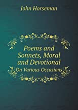 Poems and Sonnets, Moral and Devotional on Various Occasions