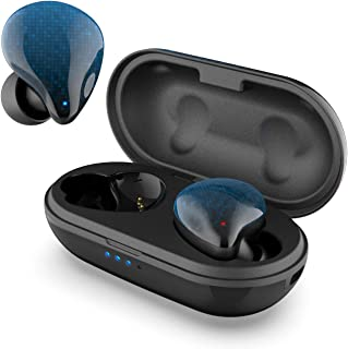 DOSS ICON True Wireless Earbuds, Stereo Sound, 30 Hours Playtime, Bluetooth 5.0, One-Step Pairing, Touch Control, Passive ...