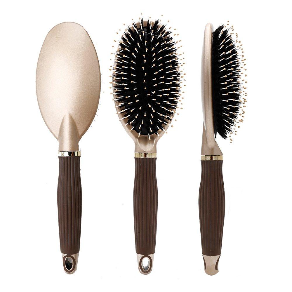 Elephbaby Boar Bristle Paddle Super sale Brush,Detangling f Hair Cheap SALE Start Brush