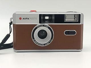 AgfaPhoto Analógica 35mm Foto Kamera café marrón