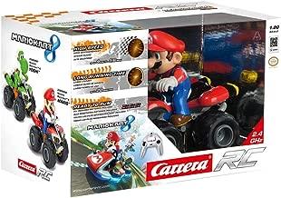 Carrera RC - Nintendo Mario Kart 8: Mario, Coche con radiocontrol, 2.4 GHz, Escala 1:20 (370200996)