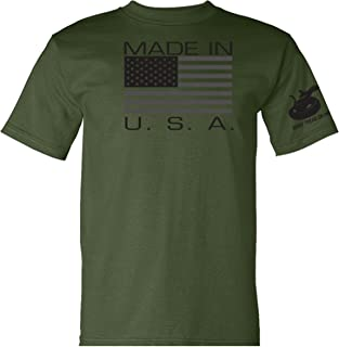 Made in USA T-Shirt - Military Green