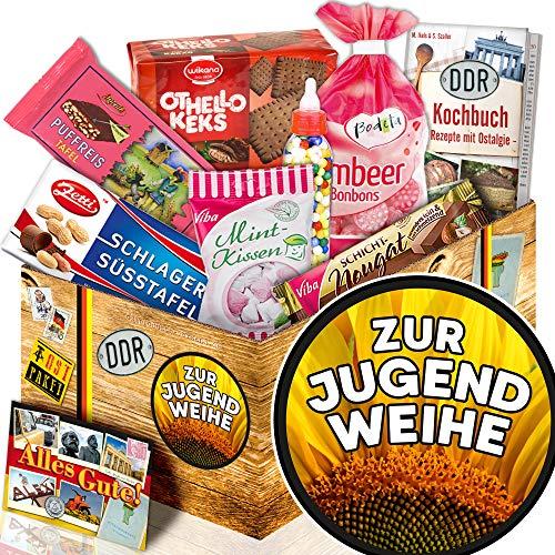 Zur Jugendweihe / Süßigkeiten Box / Geschenk Jugendweihe Junge