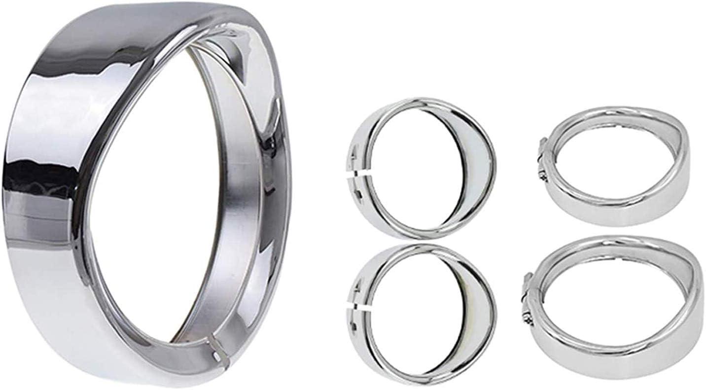Sales HDBUBALUS Visor Style 7 55% OFF inch Headlight Trim Ring 2