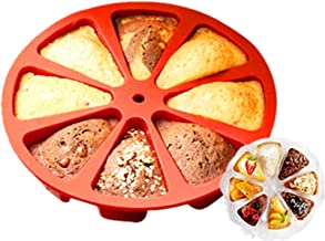 Generic 8 Cavity Bakeware Molds Silicone Cake Pie Mold Pudding Cakes Mould Christmas Muffin Pizza Baking Tools Fondant Des...