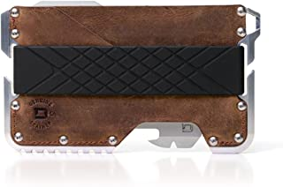 Dango T01 Tactical EDC Wallet - Made in USA - Genuine Leather, Multitool, RFID Block
