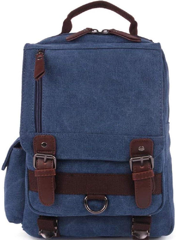 Yuany Outdoor-Rucksack Outdoor-Freizeit Wandern Wandern Rucksack Handtasche, Mnner und Frauen Multifunktions-Canvas-Tasche Solide Abriebfest Anti-Riss-Anti-Scratch Einfach und praktisch