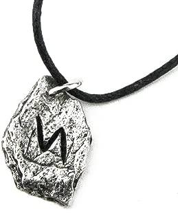 Pewter Norse Viking Rune Pendant …