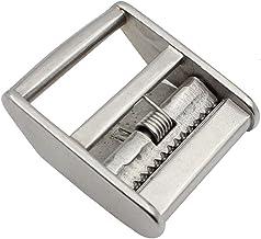 Raburt Riemspanner, roestvrij staal, nokklepgespen, druk op de nokkengespen, sjorgesp voor 25 mm/38 mm riem