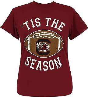 Tis The Season South Carolina Garnet Short Sleeve T-Shirt