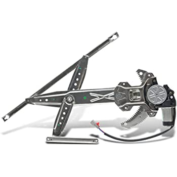 748-476 72250SNAA03 Front Left Driver Side Power Window Regulator with Motor Compatible for 2006-2011 Honda Civic Sedan with Express Up /& Down