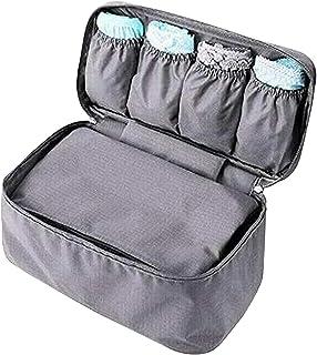 VERSCOS Waterproof Multifunctional Travel Organizer Packing Underwear Storage Bag Lingerie Pouch Toiletry Travel Gear Make...