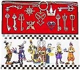 Kit de cadenas y llaves de Daiendi Kingdom Hearts, 13piezas