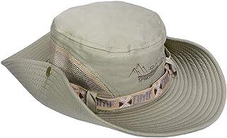 e7a9f0a54db97a SZJH Fishing Sun Boonie Hat Summer UV Protection Safari Cap Outdoor Hunting