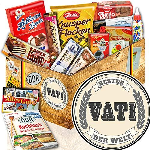 Bester Vati der Welt - Süßigkeiten Box DDR - Geschenke für Vater