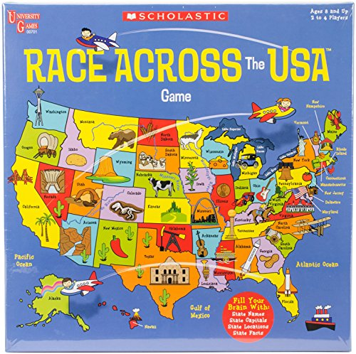 Scholastic Race Across the USA Game
