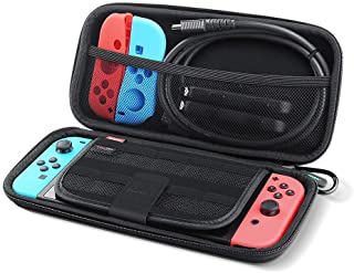 UGREEN Shockproof Case for Nintendo Switch,Travel Carrying Case Protective Case Storage Carry Bag with Carved soft Liner, ...