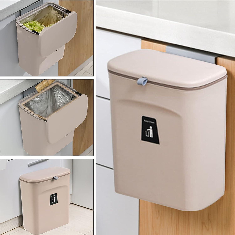 2.4 Gallon Kitchen Compost Bin with Sink Under Can Re In stock Lid Trash Superlatite