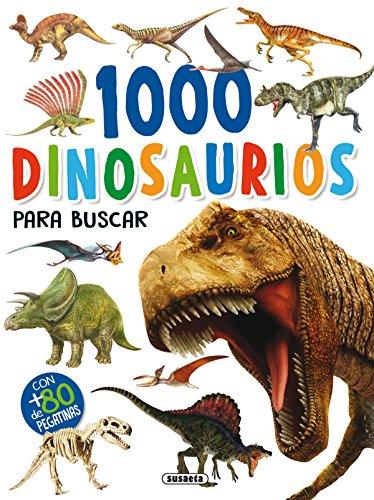 1000 Dinosaurios para buscar (1000 pegatinas para buscar)