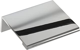 polished chrome edge pulls