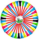 50 Piezas Accesorios Golf Tees Golf Plastico Tees de Golf de Plástico Golf tee Golf Tees Plastico Camiseta Plástico Tees Golf Tees Golf Duraderos tee Golf Duradero Tees Golf Tees Golf Plástico Color
