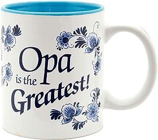 Opa is the Greastest/Blue Ceramic Coffee Mug