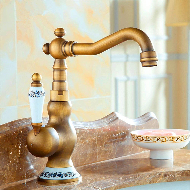 Oudan Kitchen Mixer Tap Kitchen faucet sink mixer taps sink faucet basin mixer tap antique (color   -, Size   -)