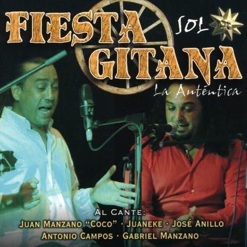 """Juan Manzano """"Coco"""", Juaneke, José Anillo, Antonio Campos & Gabriel Manzano"""