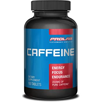 Prolab Caffeine Tablets 100 Count (Pack of 1)
