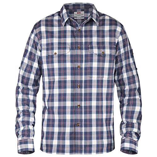 Fjällräven Herren Singi Flannel Longsleeve Shirt, Uncle Blue, XL