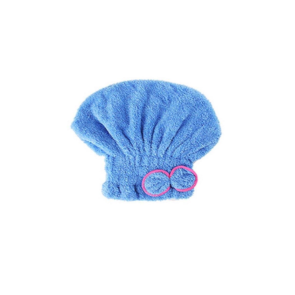 ただやる賭け修正するHENGTONGTONGXUN シャワーキャップ、ドライヘアキャップ、レディースバッグヘア速乾性タオル、吸収性ドライヘアタオル、かわいいシャワーキャップ (Color : A1)