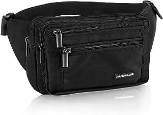 AUOPLUS Fanny Pack for Men/Women, Multi Pocket Belt Bag Outdoor Waist Pouch Hip