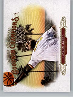 MultiSport MultiSport 2018 Upper Deck Goodwin Champions #100 LeBron James #100 Horizontal NM+
