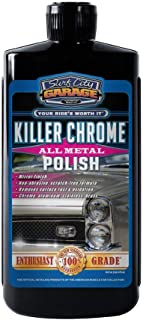 Surf City Garage 139 16 oz Killer Polish 16oz-Polishes & Cleans Aluminum, Chrome, Stainless Steel-Mirror Finish-No Scratching or Degrading The Metal