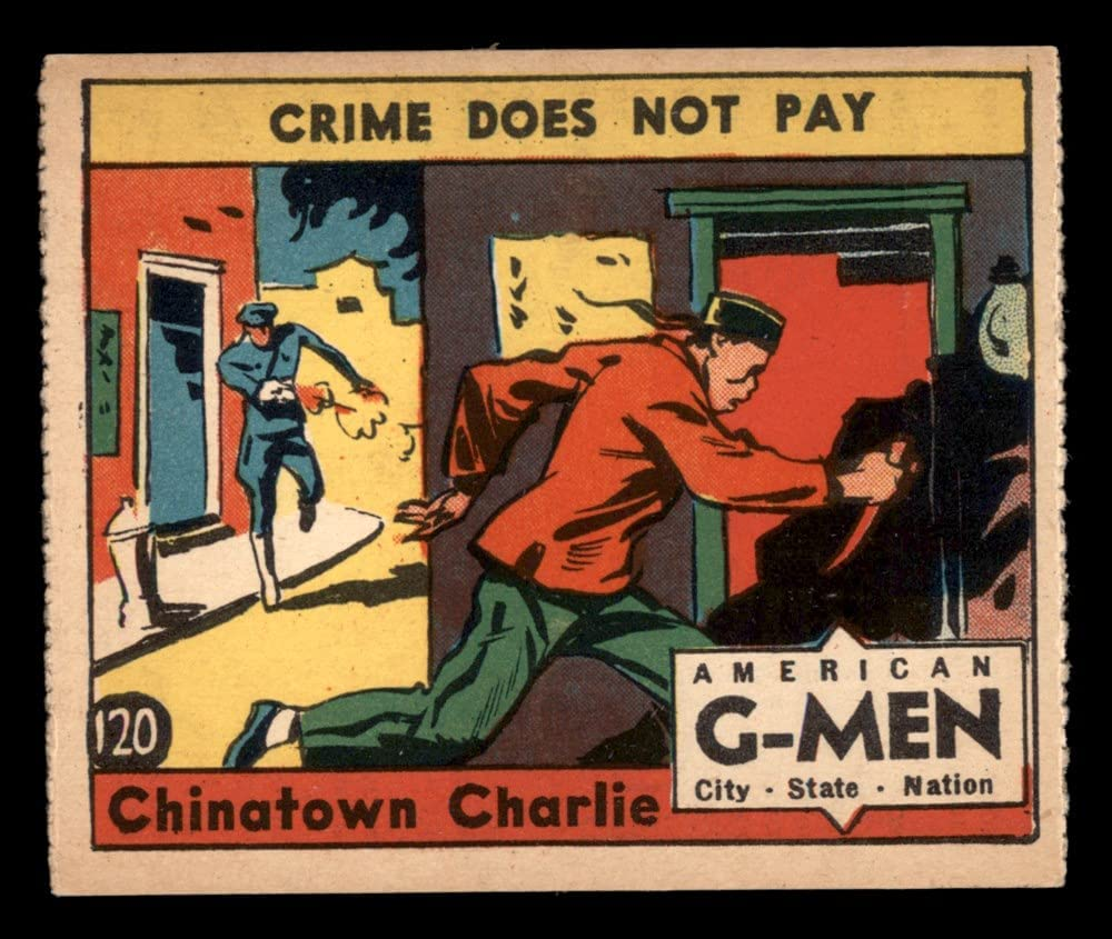 1936 Nashville-Davidson Mall Max 76% OFF Anonymous # 120 Charlie Card VG Chinatown