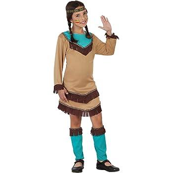 Atosa-23799 Disfraz India, color marrón, 10 a 12 años (23799 ...
