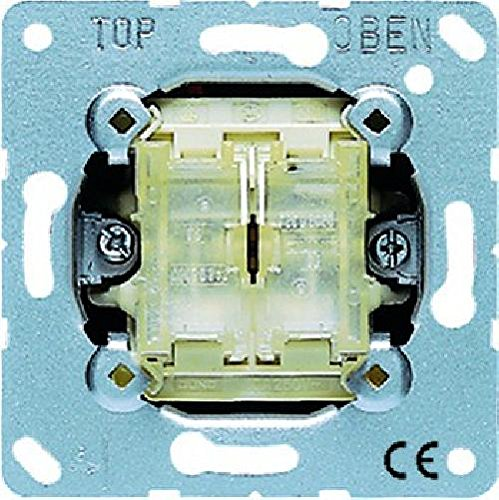 Jung Tastschalter 509TU Doppel-Wechsel, 250 V
