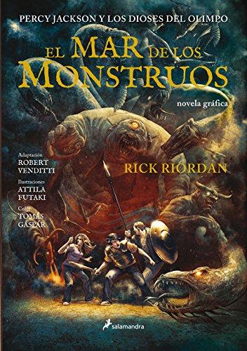 El mar de los monstruos (Percy Jackson y los dioses del Olimpo 2): Percy Jackson y los Dioses del Olimpo II