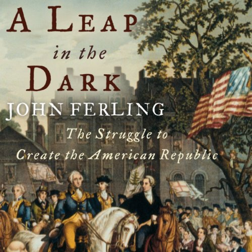 A Leap in the Dark audiobook cover art