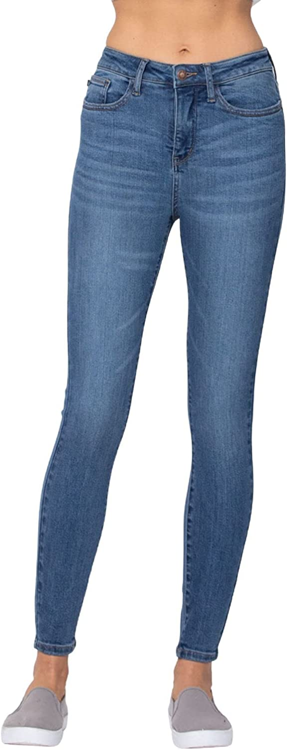 Judy Blue Control Top High Waist Skinny Jeans! The Slimming Jeans You've Been Wanting! (Style: 88212)