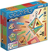 Geomag- Confetti Classic 350, Magnetic Constructions and Educational Toys, 32 Pieces