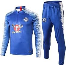 WigColtd Sportbekleidung Adult Football Team Training Kit Herren-Langarm-Fußballtrainingsanzug @ 3_XL
