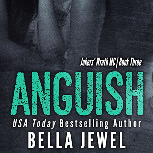 Anguish audiobook cover art