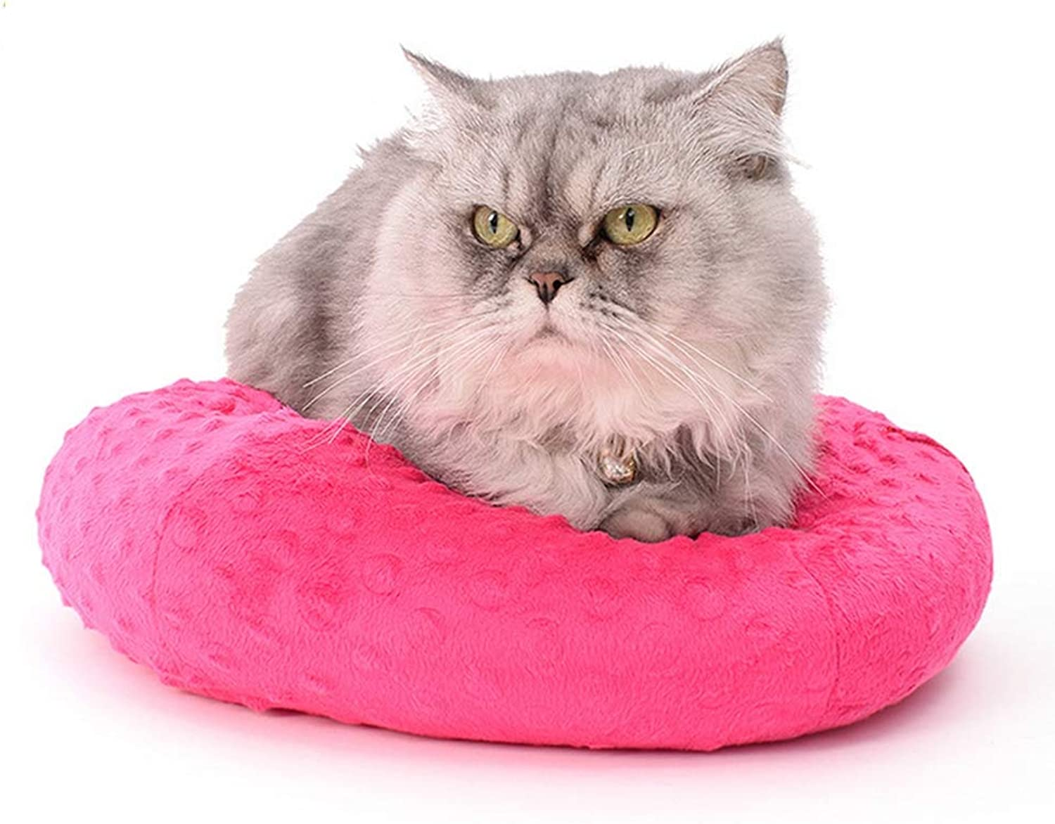 Pet Supplies Autumn and Winter Warm Round cat Litter Kennel MultiPurpose Cushion Removable and Washable pet mat